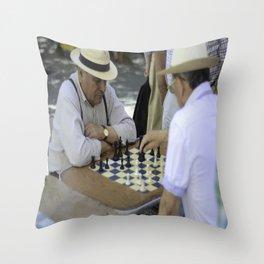 Estilo de vida - Santiago/Chile Throw Pillow
