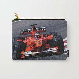 Sketch of F1 Champion Michael Schumacher - year 2000 car F1-2000 Carry-All Pouch