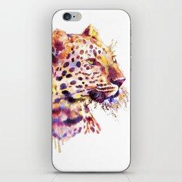 Leopard Head iPhone Skin
