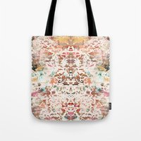 minerals Tote Bags featuring Mystic Minerals 2 by Caroline Sansone