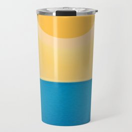 The sun comes and goes but the waves remain Travel Mug