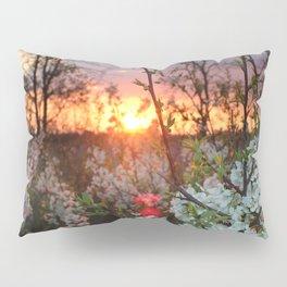 Spring Blossoms Sunset Pillow Sham