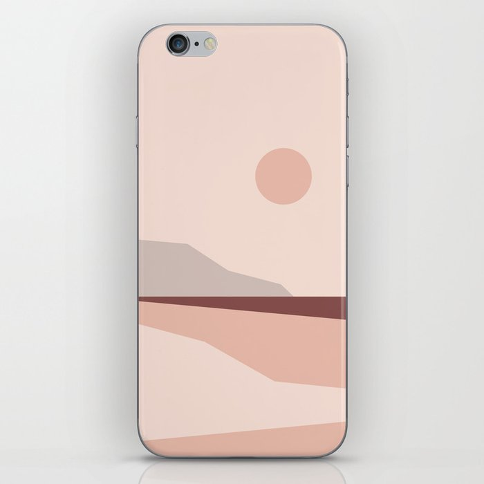 Abstract Landscape 02 iPhone Skin