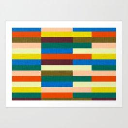 kilim Autumn Colors Art Print