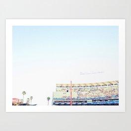 Dodger Stadium Magic Hour Kunstdrucke