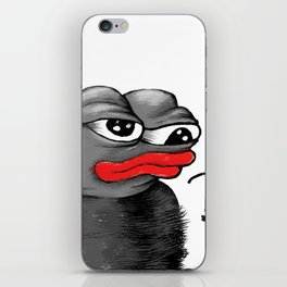 PEPE Za Frog iPhone Skin