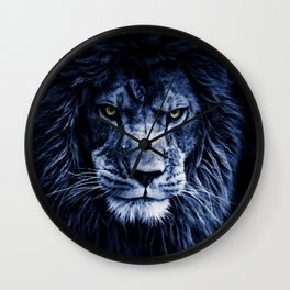 PANTHERA LEO Wall Clock
