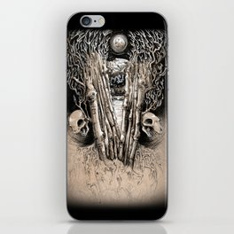 WINTERY GRAVE iPhone Skin