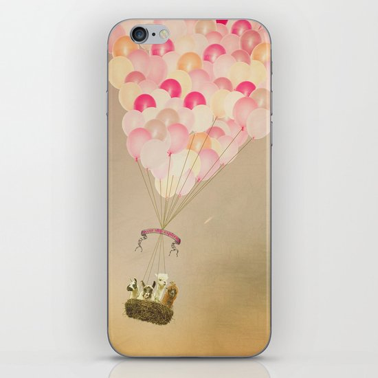 NEVER STOP EXPLORING V iPhone & iPod Skin