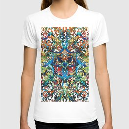 Bold Pattern Art - Color Fusion Design 8 By Sharon Cummings T-shirt