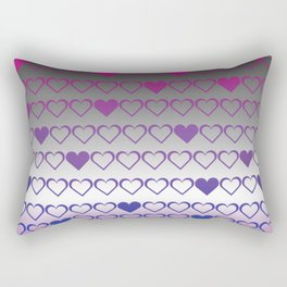 ace bi Rectangular Pillow