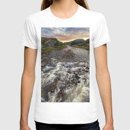 Poolewe at dawn T-shirt