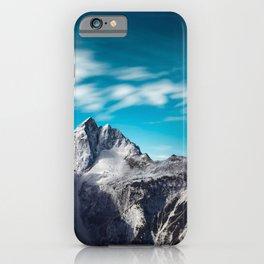 Jalovec mountain in Slovenia iPhone Case