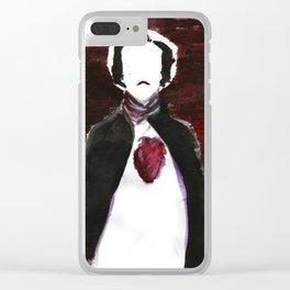 My Poe Heart Clear iPhone Case