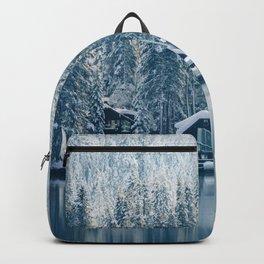 Winter's Cottage (Color) Backpack