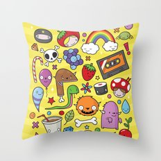 Everything is going to be OK #1 Throw Pillow