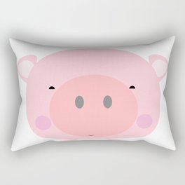 Cherry Blossom the Piglet Rectangular Pillow