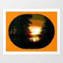 Sunriseing Art Print