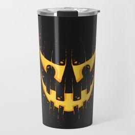 Pumpkin Smile Travel Mug