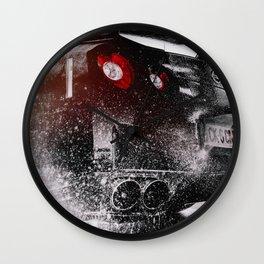Sports Car Wall Clock