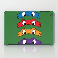 tmnt iPad Cases featuring TMNT by Kaylabeaisaflea