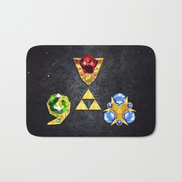 The Timeless Legend of Zelda Inspired Spiritual Stones Bath Mat