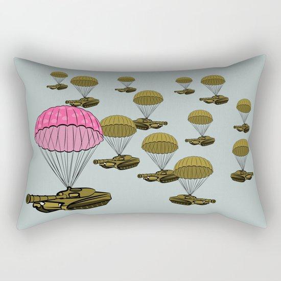 Tank Parachute Rectangular Pillow