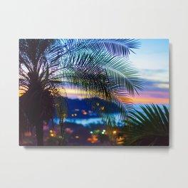 Sayulita Sunset Metal Print