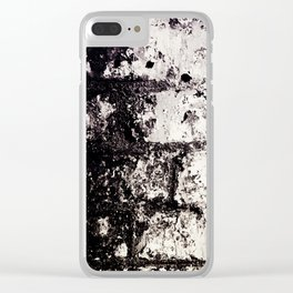 Wall of Darkness Clear iPhone Case
