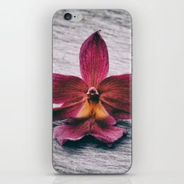 Wilting Orchid iPhone Skin