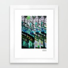 //E/CHO_DERWELTZEITUHR Framed Art Print