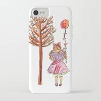 eugenia loli iPhone & iPod Cases featuring Little Loli by Adela Pakke