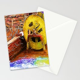Tumbling Turbine Stationery Cards