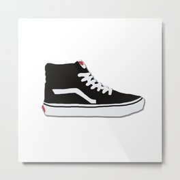 Vans Sk8-Hi High Top Sneaker Metal Print