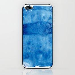 Blue Blur iPhone Skin