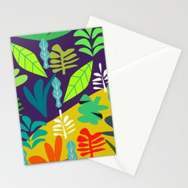 Tropical in two parts Stationery Cards