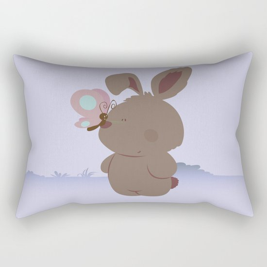 new friends Rectangular Pillow