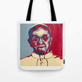 Pope Hope Tote Bag