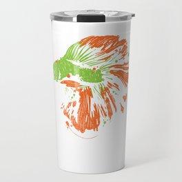 Betta Splendens Shirt Cute Bettas Siamese Fighting Fish Gift Travel Mug