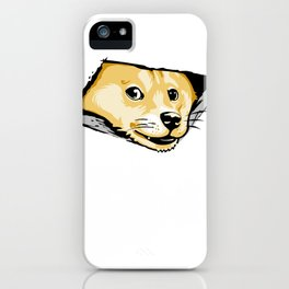 Ceiling Doge iPhone Case
