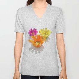 imagine flowers Unisex V-Neck