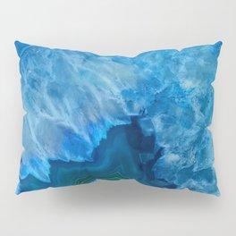 Blue Agate Pillow Sham