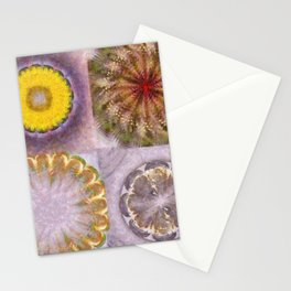 Paligorskite Being Flower  ID:16165-060146-91170 Stationery Cards
