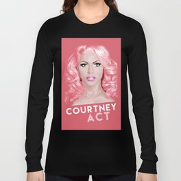 Courtney Act, RuPaul's Drag Race Queen Long Sleeve T-shirt