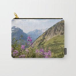 Mountain Blossoms Carry-All Pouch