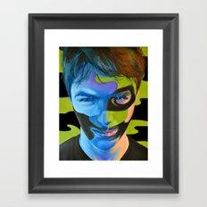 Camouflage III Framed Art Print