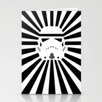storm trooper Stationery Cards featuring Storm Trooper by RobotSpaceBrain