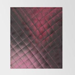 Rose Red Light Throw Blanket