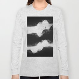 Hello from the The Upside Down World Long Sleeve T-shirt