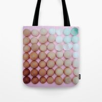 egg Tote Bags featuring egg by sh3011